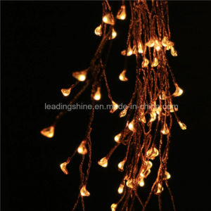 Firecracker Lights Copper Wire String Lights Ledoutdoor Warm White Firefly for Party Weddings pictures & photos
