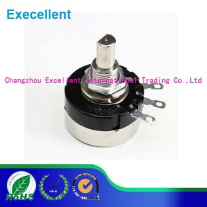 RV24yn20f 0.25W 10k Ohm Stereo Volume Control Potentiometer pictures & photos
