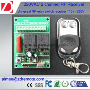 2channel 200m RF Transmitter and Receiver 220V / 12V/ 24V pictures & photos