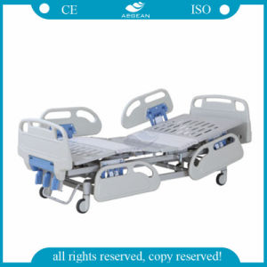 AG-Bys001 ABS 3-Crank Manual Equipment Medical Bed (AG-BYS001) pictures & photos