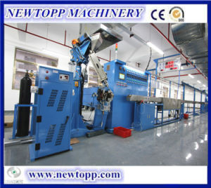 Tri-Layer Co-Extrusion Extruder Machine for Physical Foaming Cable pictures & photos