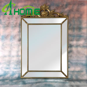 Metal Frame Beveling Glass Cheap Wall Mirror pictures & photos
