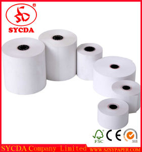 China Thermal Jumbo Cash Register Paper Roll pictures & photos