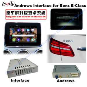 Android GPS Navigation Video Interface for Mercedes-Benz B Class Ntg 4.5 Command Audio20 pictures & photos