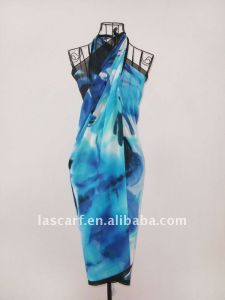 Polyester Chiffon Beach Scarf pictures & photos