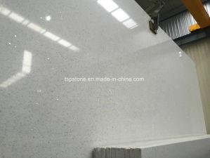 Crystal White Manmade Quartz Stone Tile pictures & photos