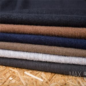Wool /Cotton /Acrylic Mixed Wool Fabric for Autumn Season Navy pictures & photos