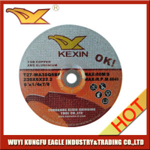 Depressed Center Resin Bonded Grinding Wheel pictures & photos