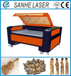 Automatic Feed Cloth Leather CO2 Laser Engraver Engraving Machine Cutting with 100W130W pictures & photos