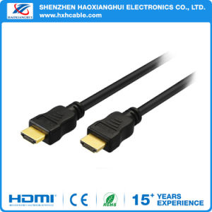 High Speed 4k 1080P Golded HDMI Cable Factory Price pictures & photos