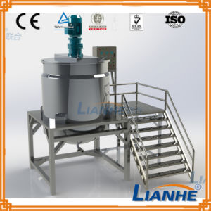Cosmetic/Liquid/Soap Blending Mixing Machine with Homogenizer pictures & photos