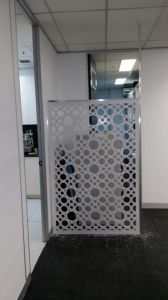 Hotel Restaurant Decorative Laser Cut Perforated Metal Aluminum Wall Partition Panels