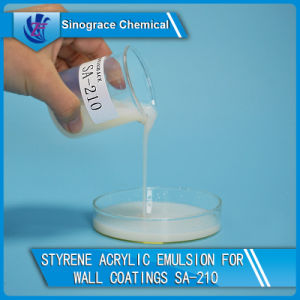 Styrene Acrylic Copolymer Dispersion for Exterior and Interior Wall Coatings pictures & photos
