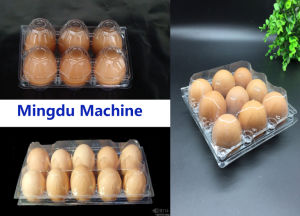 Plastic Disposable Coffee Cover Egg Tray Box Plate Forming Machine pictures & photos
