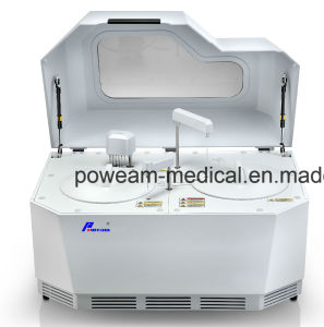Clinic Laboratory Fully-Automatic Chemistry Biochemistry Analyzer with Touch Screen PC (poweam A8) pictures & photos
