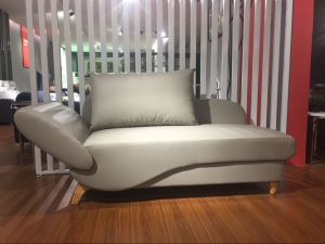 Queen Size PU Leather Sofa Bed with Super Big Storage pictures & photos