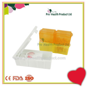 Weekly 7 Days 14 Compartments Detachable Pill Box With Cutter pictures & photos