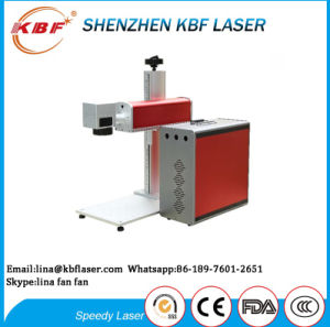 Small Stainless Steel Fiber Laser Engraving Machine Manufactures pictures & photos