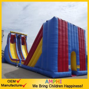 China Factory Giant Amusement Park Inflatable Bouncy Slide for Sale