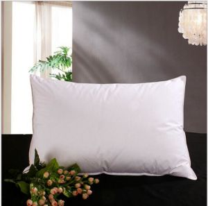 Polyester 2-4 Cm Goose Feather Pillow for Home pictures & photos