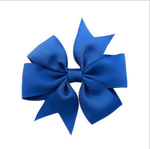 Cheap Christmas Gift Bow Satin Bow Grosgrain Ribbon Bow pictures & photos