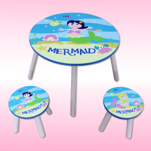 Educational Kids Study Table with Chair with MDF Material pictures & photos