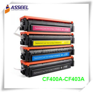 Compatible Toner Cartridge CF400A/ CF400X Series for HP Color Laserjet PRO M252dw/M252n/Mfp/M277dw/M277n pictures & photos