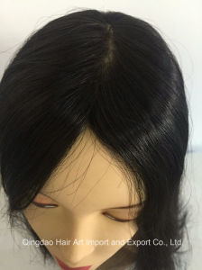 16′′ Mongolian Virgin Hair Silk Top Jewish Wig for Women pictures & photos
