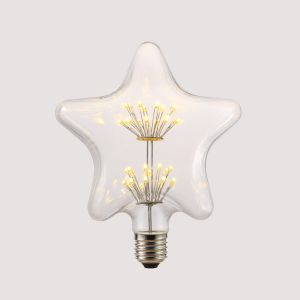 Star shape starry LED bulb energying saving with 2W E27 bulb pictures & photos