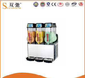 3 Cylinder Best Price Cold Fruit Juice Dispenser Slush Machine pictures & photos