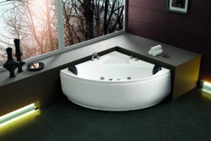 (K1278) Freestanding Acrylic Bathtubs / Massage Whirlpool Bathtubs pictures & photos