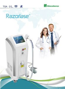 FDA Approved Alexandrite Laser 755nm Diode Laser for Permanent Hair Removal Machine pictures & photos