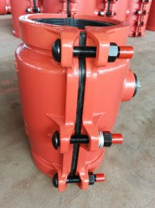 PE, PVC Pipe Repair Clamp P160- Orange Color pictures & photos