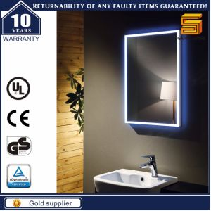 Wall Mounted LED Backlit Illuminated Bathroom Mirror for Hotel pictures & photos