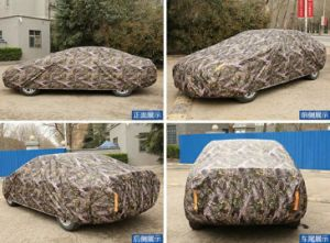 Automatic Electric Control Waterproof Rain Sun UV Proof Sedan SUV Car Cover pictures & photos