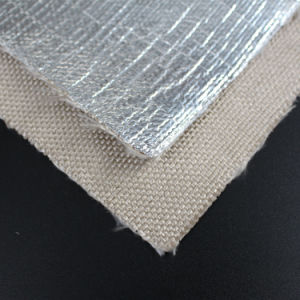 Radiant Heat Reflective Aluminum Foil Coated Fiberglass Fabric pictures & photos