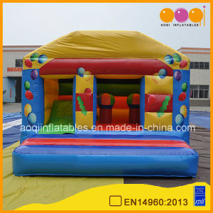 Mini Home Used Inflatable Balloon Bouncer (AQ698) pictures & photos