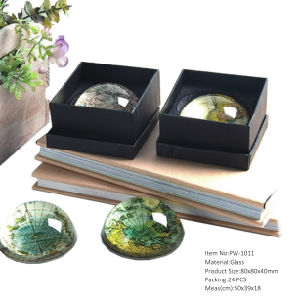 Wholesale Decorating Round Wedding Centerpieces Paperweight pictures & photos