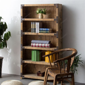 Bookself Wooden Home Stand Shelf Rack for Display (GS-1407) pictures & photos