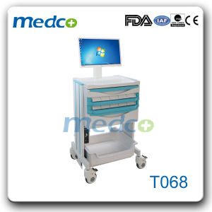 Hot! ! Medical ABS Emergency Patient Trolley pictures & photos