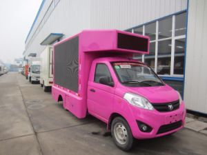 Changan Small Mobile LED Screen Truck pictures & photos