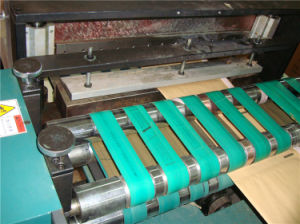 Express/Courier Kraft Bubble Mailer Making Machine pictures & photos