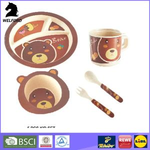 LFGB Kids Bamboofiber Dinnerware pictures & photos