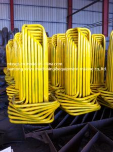 factory outlet yollow square base steel wire carrier pictures & photos
