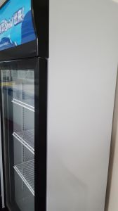 Chinese Upright Showcase Freezer Online Shop pictures & photos