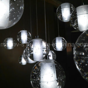 Modern Bocci Meteor Shower Crystal Ball Glass Bubble LED Pendant Light pictures & photos