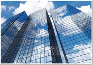 Frameless Low Cost Skyscraper Glass Curtain Wall Installation pictures & photos
