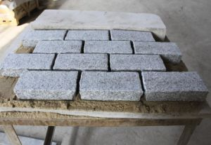 Cheap Grey G603 Granite Flamed Paver Cubes Stone Pavers Fgor Walkway, Driveway pictures & photos