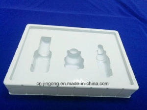 White PVC Cosmetic Grand Blister Packing Tray pictures & photos