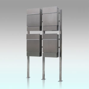Gh-3329s12u4 Standing Stainless Steel Mail Boxes pictures & photos